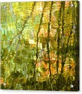 Autumn Reflections New Hampshire Acrylic Print