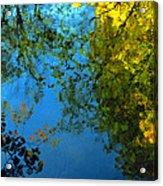 Autumn Reflections New Hampshire II Acrylic Print