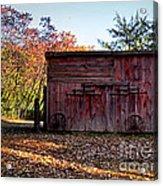 Autumn Shed Acrylic Print