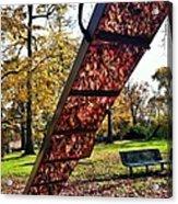 Autumn Slide Acrylic Print