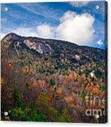 Autumn Summit Acrylic Print