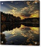 Autumn Sunset 2 Acrylic Print
