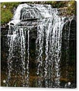 Autumn Water Fall Acrylic Print