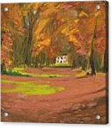 Autumn Woods 3 Acrylic Print