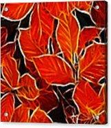 Autums Blood Acrylic Print