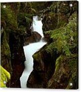 Avalanche Gorge I Acrylic Print