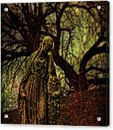Ave Maria Full Of Sorrows Acrylic Print