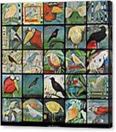 Aviary Poster Acrylic Print