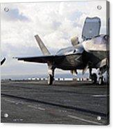 Aviation Boatswains Mate Signals Acrylic Print