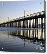 Avila Beach Pier California 3 Acrylic Print