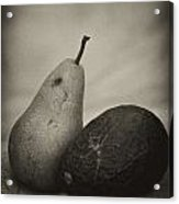 Avocado And Pear Acrylic Print