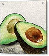 Avocado Acrylic Print by Prashant Shah