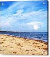 Avon Beach At Mudeford In Dorset Acrylic Print