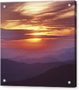 Awesome Sunset Acrylic Print
