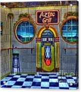Aztec Grill Route 66 Acrylic Print
