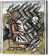 Aztec: Life And Death Acrylic Print