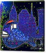 Azul Acrylic Print