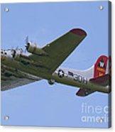 B-17g Aluminum Overcast Acrylic Print