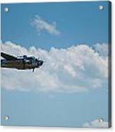 B 25 Mitchel Bomber Acrylic Print