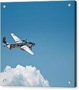 B25 Mitchell Bomber - Making The Turn Acrylic Print