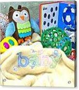 Baby Stuff Acrylic Print