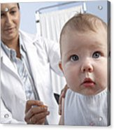 Baby Vaccination Acrylic Print