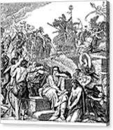 Babylonian Captivity Acrylic Print by Granger