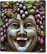 Bacchus God Of Wine Acrylic Print