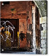 Back Alley In Leon Acrylic Print