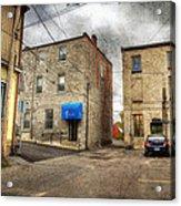 Back Alley Napanee Acrylic Print