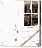 Back Porch Reflections Acrylic Print