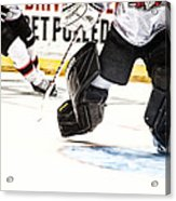 Back To The Crease Acrylic Print