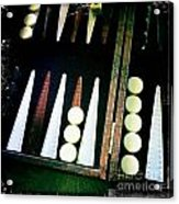 Backgammon Anyone Acrylic Print