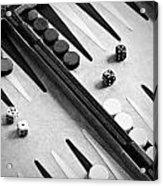 Backgammon Acrylic Print by Joana Kruse