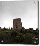 Backlit Castle Acrylic Print