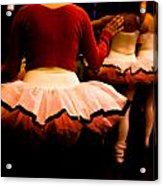 Backstage Acrylic Print by Denice Breaux