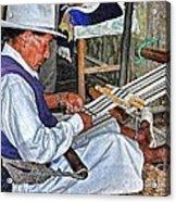 Backstrap Loom - Ecuador Acrylic Print
