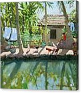 Backwaters India  Acrylic Print