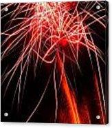 Backyard Fireworks 2012 4 Acrylic Print