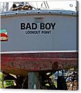 Bad Boy 0118 Acrylic Print