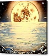 Bad Moon Rising Acrylic Print