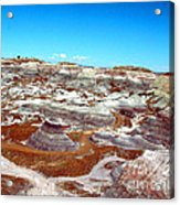 Badlands In The Painted Desert Acrylic Print