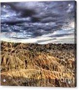 Badlands Of South Dakota Acrylic Print