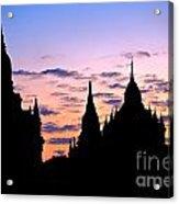 Bagan Acrylic Print