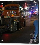 Bagged And Dragged In Austin Texas Acrylic Print