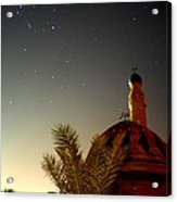 Baghdad Mosque In The Night Acrylic Print