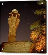Baghdad Night Sky Acrylic Print by Rick Frost