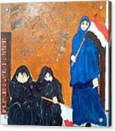 Bahraini Women Acrylic Print by Andrea Friedell