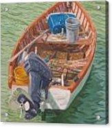Bailey's Bay Fishing Dinghy Acrylic Print