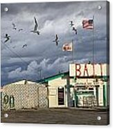 Bait Shop By Aransas Pass In Texas Acrylic Print